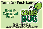 Website for Green Bug