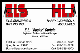 Website for E.L.S. Surveying & Mapping, Inc.