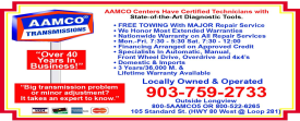 Website for AAMCO of Longview