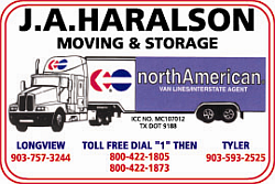 Website for J A Haralson Moving & Storage, Inc.