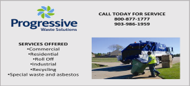 Website for Progressive Waste Solutions of TX