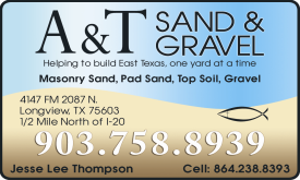 Website for A & T Sand and Gravel