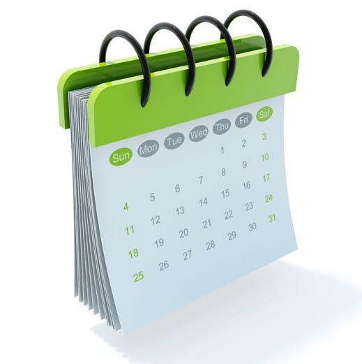 NCC MG Calendar