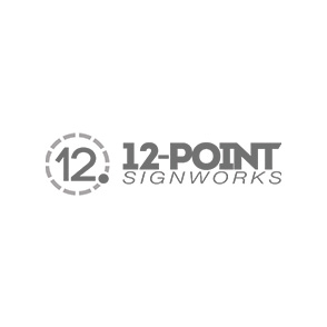 12 Points Sign Works