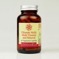 Baldwins Ultimate Multi Multi-vitamin & Mineral 60 Vegetarian Capsules