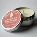 Baldwins Lavender And Chamomile Aroma Candle 105g
