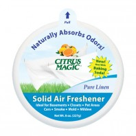 Citrus Magic Solid Air Freshener - Pure Linen 227g
