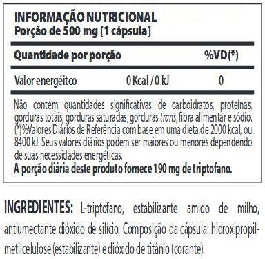 Tryptophan Nutrify