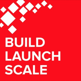 build launch scale logo