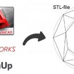 ¿Cómo exportar los archivos a STL en los distintos programas CAD?