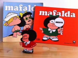 Mafalda impresa en 3D, perfecta como adorno de escritorio.