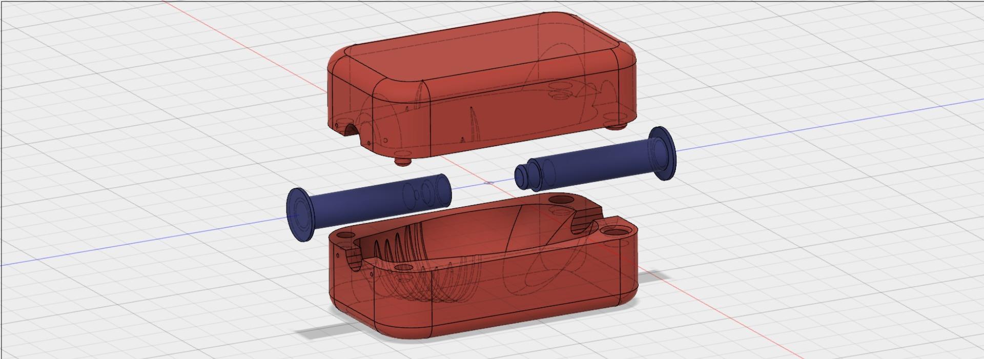 Modelación 3D optmizada para impresión 3D