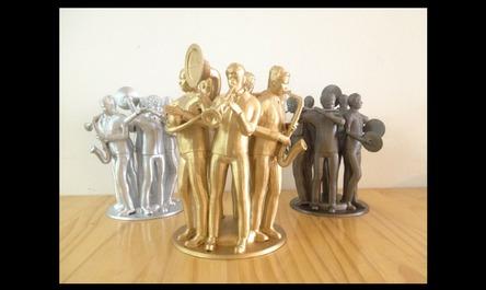 Trofeos impresos en 3D