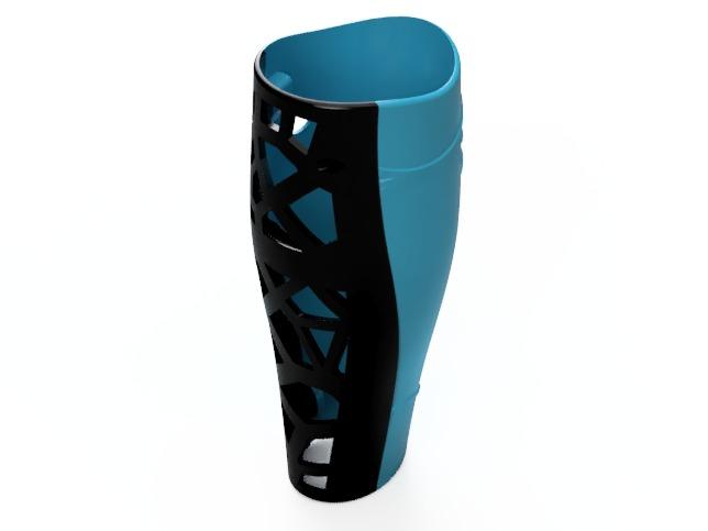 Prediseño carcasas rodilla protesicas impresión 3D 2
