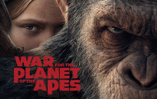 War for the Planet of the Apes | Display Ad Campaign & Social Content