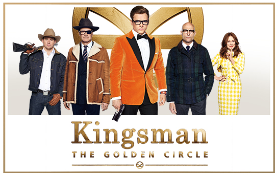 Kingsman: The Golden Circle | Display Ad Campaign & Social Graphics