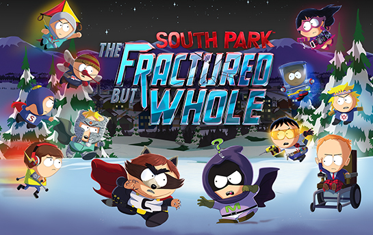 South Park The Fractured But Whole | Display Ad & Social Campaign