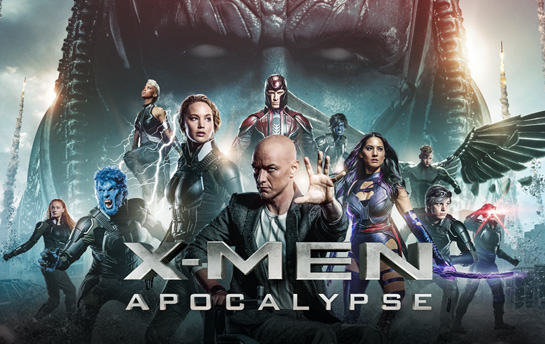 Xmen Apocalypse | Banner Campaign & Social Content