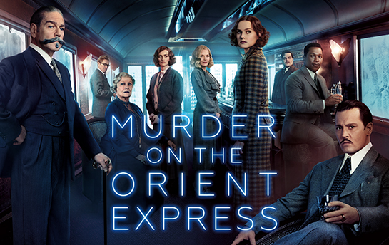 Murder on the Orient Express | Social Graphics