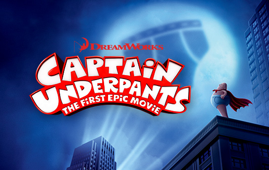 Captain Underpants | Social Content Creation