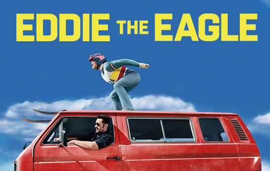 Eddie the Eagle | Display Ad Campaign + Social Content
