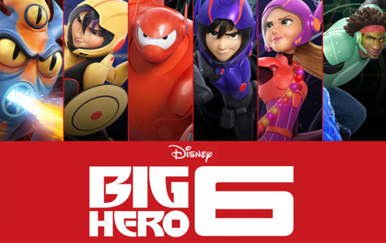 Big Hero 6 | Facebook Stickers + Icons