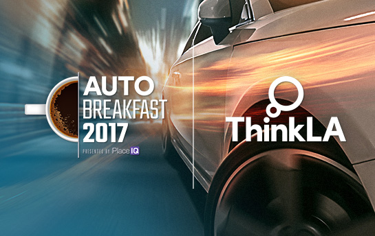 Think LA Auto Breakfast 2017 | Branding & Social Graphics