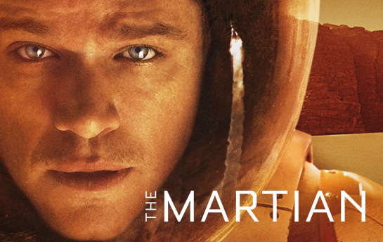 The Martian | Display Ad Campaign + Social Content