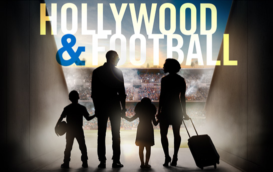 Hollywood & Football | Display Ad Campaign