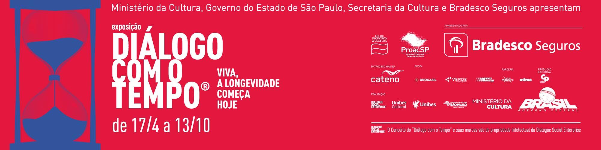 """Exposição """"Diálogo com o Tempo"""" segue aberta; ingressos custam R$ 20 e R$ 10"""