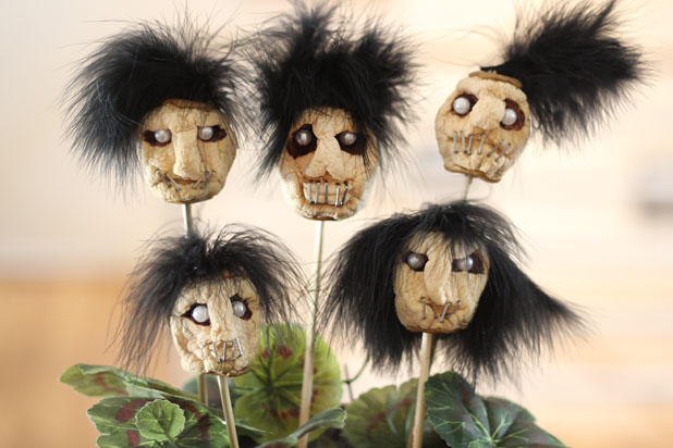 Make Dried Apple Shrunken Heads