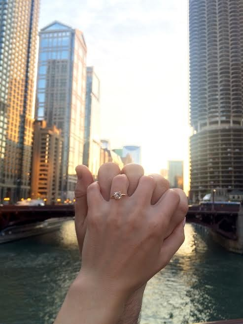 July 25, 2016 -the day we got engaged!!!!