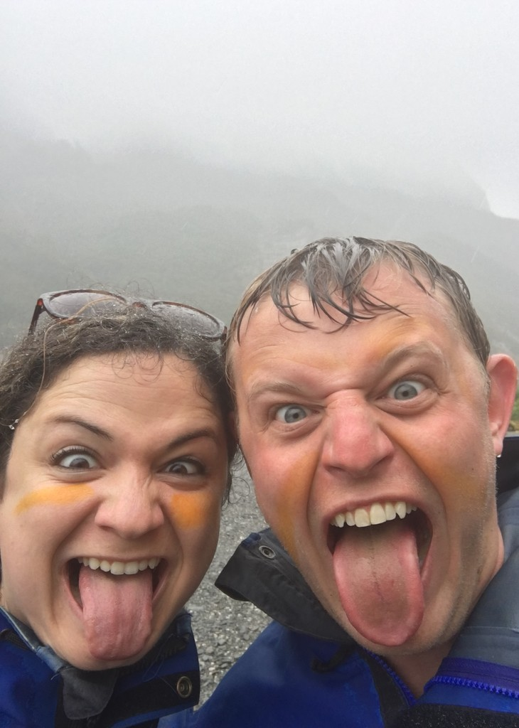 Getting our Maori on in New Zealand