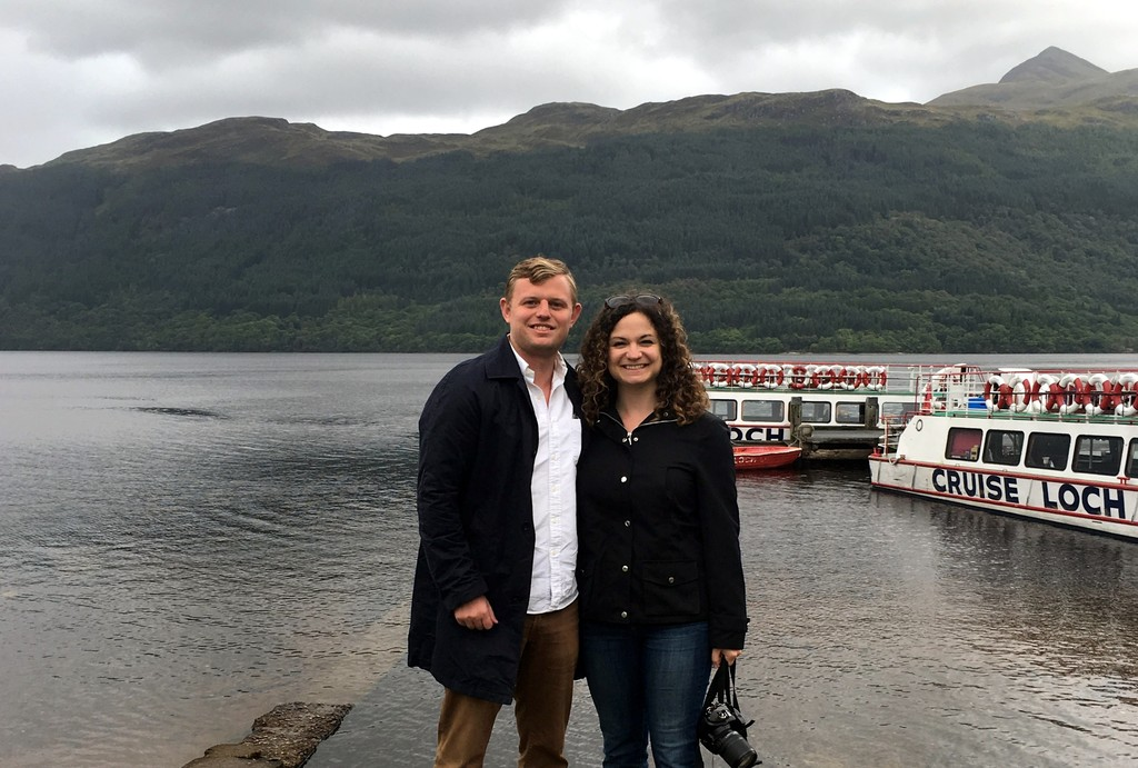 About to go for a boat ride on Loch Lomond, Scotland