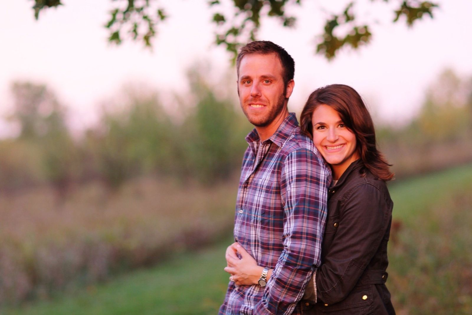 Lauren Wright and Jeff Luedeke