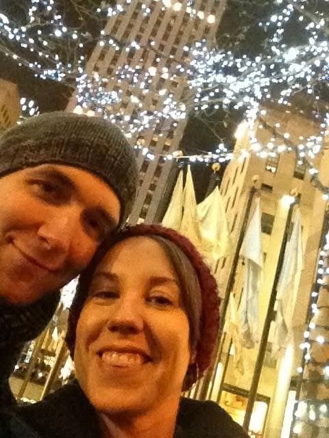 Rockefeller Center in NYC at Christmas!