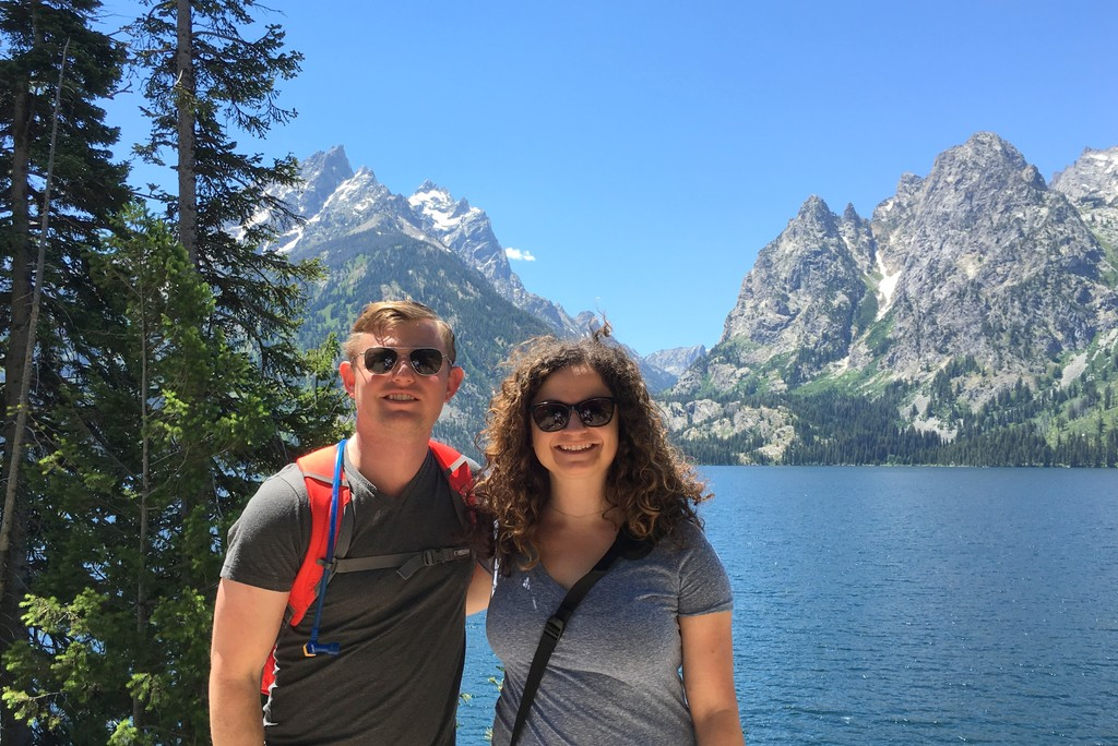 Hiking Jenny Lake in the Grand Tetons, WY