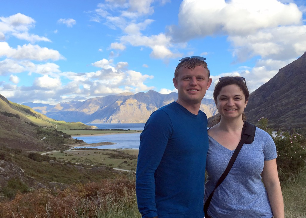 Road tripping into Queenstown, New Zealand