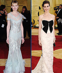 Kidzworld's picks for worst dressed are Kirsten Dunst and Anne Hathaway!