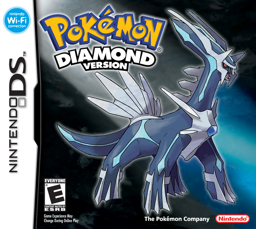 Nintendo Ds Pokemon Games : Pokemon diamond and pearl nintendo ds game