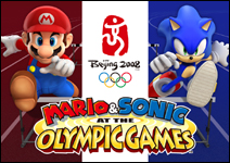 Mario and Sonic are teaming up in the Mario & Sonic at the Olympic Games video game for Wii and DS!