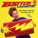 Make your own gadgets and gizmos with Battery Science from Klutz.