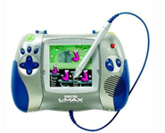 The Leapster L-Max is a portable learning system.