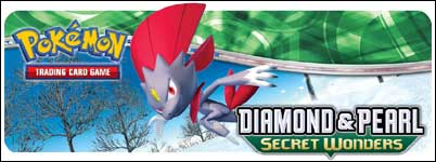 TThe Pokemon Trading Card Game: Diamond & Pearl - Secret Wonders expansion is coming on November 07!