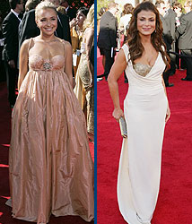 Kidzworld's picks for worst dressed are Hayden Panettiere and Paula Abdul!