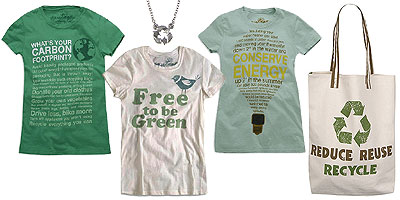 Help promote environmental awareness with these earth-friendly products!
