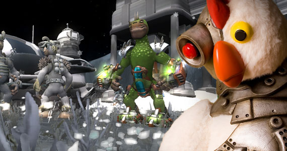 Spore Galactic Adventures & Robot Chicken