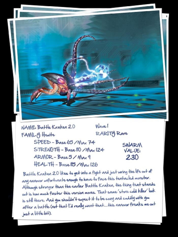 Nanovor: Battle Kraken