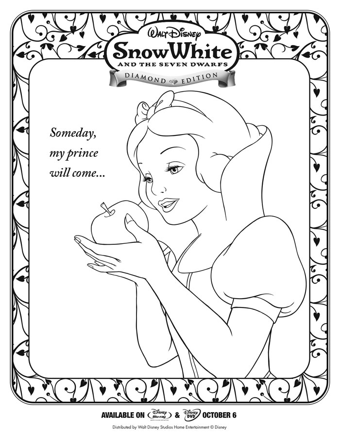 Snow White and the Seven Dwarfs Activity Sheets – Activity Worksheets