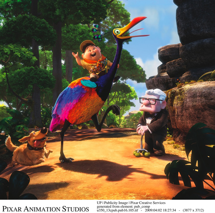 Disney*Pixar's UP Kevin and Alpha DVD Clips and Images: www.kidzworld.com/article/21216-up-dvd-clips-and-images